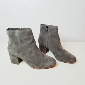 Steve Madden grey suede Holster booties size 7